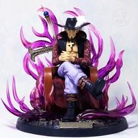 娛樂收藏 公仔模型國產海賊王gk王座鷹眼手辦pop米霍克玩偶十字架黑刀大號模型禮物