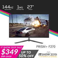 """PRISM+ F270 27"""" 144Hz 1ms FHD [1920 x 1080] Gaming Monitor"""