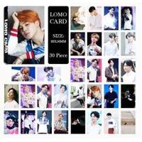 Youpop KPOP BTS Bangtan Boys Summer Package Photo JIMIN Album LOMO Cards Self Made Paper Card HD Photocard LK400 - intl
