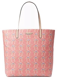 [KATE SPADE NEW YORK] 43213-55397 - Kate Spade Camel Spice Things Up Bon Shopper Pink Tote Bag