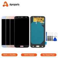AAA+++Quality LCD For Samsung J7 Pro  2017 J730 J730F Display Touch Screen Parts