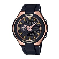 Casio Baby-G G-MS Lineup Black Resin Band Watch MSG400G-1A1 MSG-400G-1A1