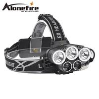 【5個LED燈⚡️賣家推薦】HP26爆亮 CREE-T6 頭燈 進口T6燈泡 超強光 頭燈 釣魚頭燈