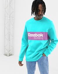 리복 Reebok Classics Sweatshirt In Green DX2343