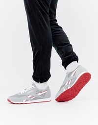 리복 Reebok Classic Nylon Archive Trainers Grey CN5149