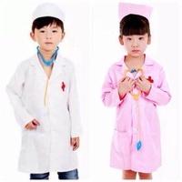 เสื้อกาวน์+หมวก ชุดคุณหมอ นางพยาบาล