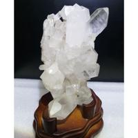 白水晶簇(753g)