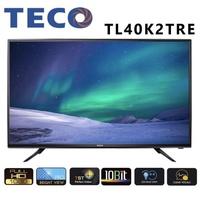 TECO東元 40吋 FHD 低藍光 液晶電視 TL40K2TRE