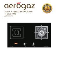 Aerogaz 70Cm Hybrid Induction + Gas Hob (AZ-781FE)