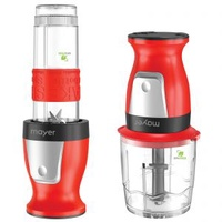 MAYER MMBC19RD (RED) 2 IN 1 BLENDER AND CHOPPER (300W)