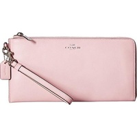 COACH Womens Darcy Leather Holdall Wallet Petal Wallets - intl