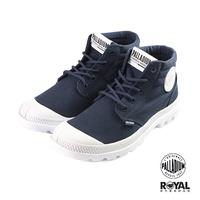 Palladium 新竹皇家 Blanc Lite 深藍色 帆布 高統 軍靴 女款 NO.B0556