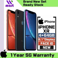 (Brand New SG Set) iPhone XR 128GB / Face ID / 6.1 inch Display / 1 Year Apple SG Warranty
