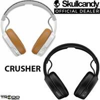 Skullcandy Crusher Wireless Bluetooth Over-the-Ear Headphone with Microphone
