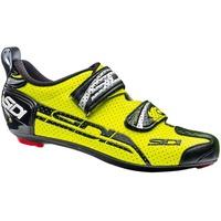 『小蔡單車』Sidi T-4 Air 碳纖維 三鐵/計時車/公路車 專業 卡鞋/車鞋 螢光黃/黑色