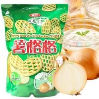 華元波的多薯格格 大包裝500g 餅乾 洋芋片[TW39402] 健康本味