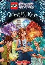 LEGO Elves: #1 Quest for the Keys Chapter Book No Level