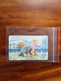 Precious Moments collection ezlink card