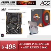 ASUS TUF B450-PLUS GAMING + AMD RYZEN 5 2600