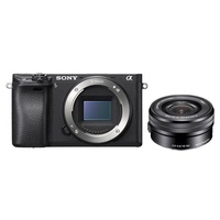 Sony ILCE-6300L E-mount DSLM with 16-50mm Power Zoom Lens Kit