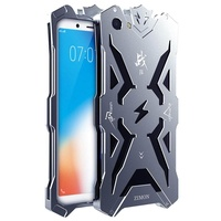 Mooncase for VIVO Y71 Case Hollow Design Full Signal Thor Case [Anti-scratch] Aviation Aluminum Metal Hard Rugged Strong Protection Case Cover