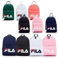 FILA LOGO 旅行 小包 雙肩 後背包 深藍 白紅 老爹鞋 附鑰匙圈 7色 BPS-1402-BK