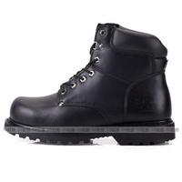 男款 凱欣 KS MIB M-G6039 真皮鋼頭固特異 安全鞋 工作鞋 戰鬥靴 黑色