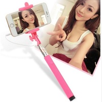 universal fashionable mini long selfie stick monopod iphone android xiaomi smartphone