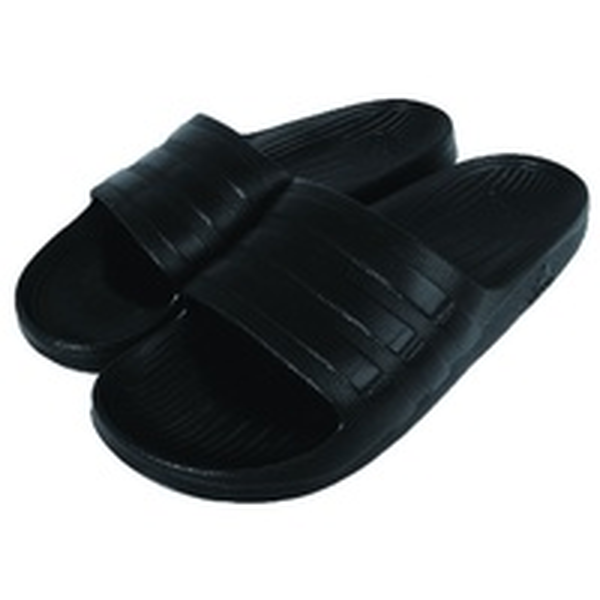 【ADIDAS】DURAMO SLIDE 拖鞋 黑 男鞋 女鞋 情侶鞋 -S77991