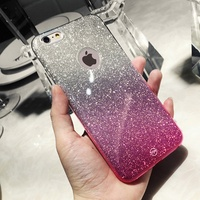 OPPO R11/R11 Plus、R11S/R11S Plus Glitter Gradient soft case cover