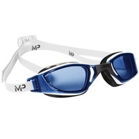 MP XCEED - Blue Lens(泳鏡) White/Black
