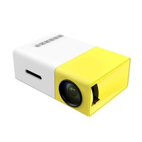 LingTud YG300 Full HD Mini Smart Projector LED DLP Home Theater 1080P - intl