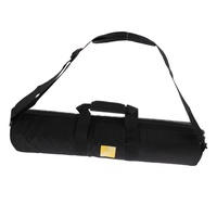 """ZKYT Tech Miracle Shining Nylon Tripod Bag Carrying Case Foam Padded for Tripods up to 23"""". Black"""