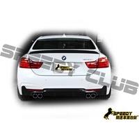 BMW F32 F33 F36 M-TECH後保桿專用 3D款 carbon碳纖維後下巴