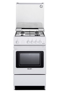 ELBA EGC 536 WH Free Standing Cooker (Gas Oven)