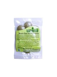 พลูโตไบโอกรีน ทุเรียนเล็กปลูกใหม่  2.5 g x 10 g เม็ด  เป็นอินทรีย์ ช่วยฟื้นฟูสภาพดินช่วยให้รากเดินดี สามารถใช้ควบคู่กับ ปุ๋ยอินทรีย์ ปุ๋ยเคมี ปุ๋ยน้ำ ปุ๋ยชีวภาพ ปุ๋ยมูลค้างคาว ปุ๋ยเกล็ด ปุ๋ยเร่งดอก ปุ๋ยคอก ปุ๋ยทุเรียน