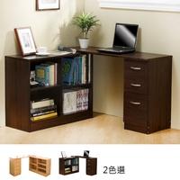 【免運】MIT台灣製 【居家大師】L型旋轉百變功能書桌櫃 辦公桌 書櫃 書桌 電腦桌 工作桌 L型書桌 L桌 DE006