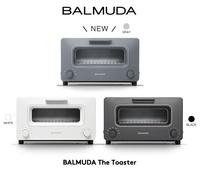 3色 日本公司貨 BALMUDA  K01E 蒸氣水烤箱 The Toaster K01E 烤麵包機 吐司烤箱 溫度控制 蒸氣 四種菜單模式 三段火力 烤吐司 日本必買代購