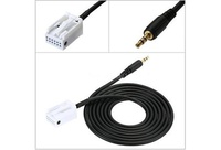 Usefully Audio Music AUX Cable Input Adapter for Mercedes Benz W203 W209 C Class