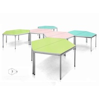 【JS214-04】 EMR梯形會議桌 #EMR-J1407RM