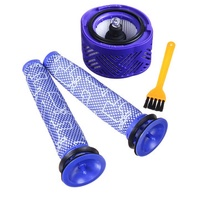 2 Pre Filters with HEPA Filter Kit Replacement for Dyson V6 Vacuum Cleaner Parts