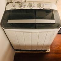 (誠可議)美國 Frigidaire 富及第 3.5Kg 雙槽洗衣機 2015年製造