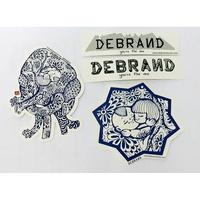 DEBRAND  品牌 限量貼紙