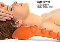 按摩器 日本腰椎脊椎舒緩架按摩器頸椎按摩枕腰部肩頸部背部穴位按摩墊 夢藝家