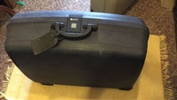 Delsey big size hard case luggage