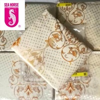 Sea Horse Foldable Mattress Cover with zip