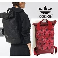 Adidas x Issey Miyake 3D Roll Urban Mesh Roll Up Black Drawtsring Backpack Bag