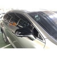 【晴雨窗】凌志,LEXUS,NX300h,NX200t,日規原廠射出 晴雨窗 + 不鏽鋼鍍鉻條