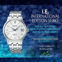 SEIKO INTERNATIONAL EDITION PRESAGE LADIES AUTOMATIC COCKTAIL TIME LIMITED EDITION 5000PCS MADE IN JAPAN SRP843J
