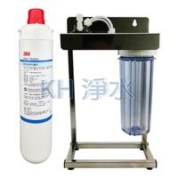 【KH淨水】3M商用淨水器EP25除鉛型濾心2道白鐵腳架淨水器3560元(全配件,可取代愛惠浦S100及S104)